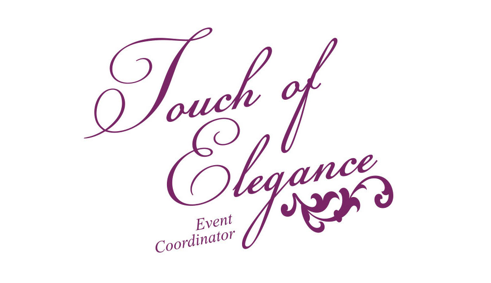 Touch of Elegance Event Planners Logo Design