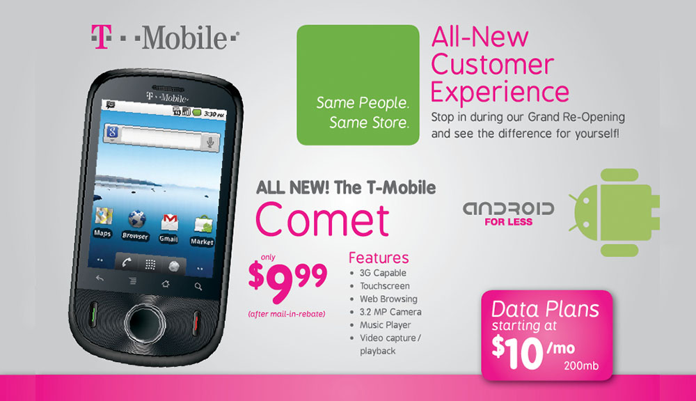 Mobileistic t-Mobile design