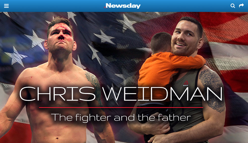 Newsday Chris Weidman Preview