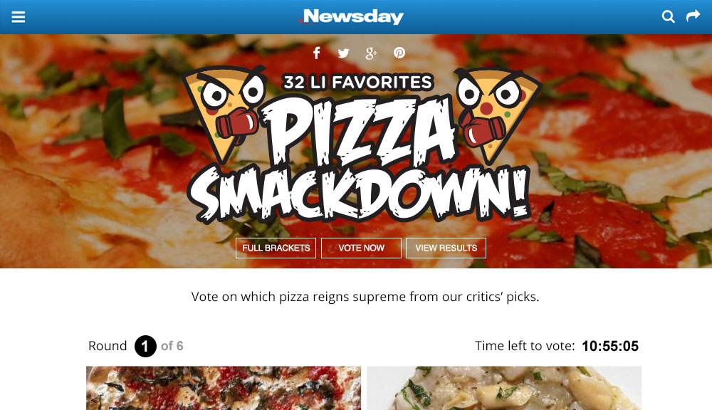 Newsday Pizza Smackdown Preview