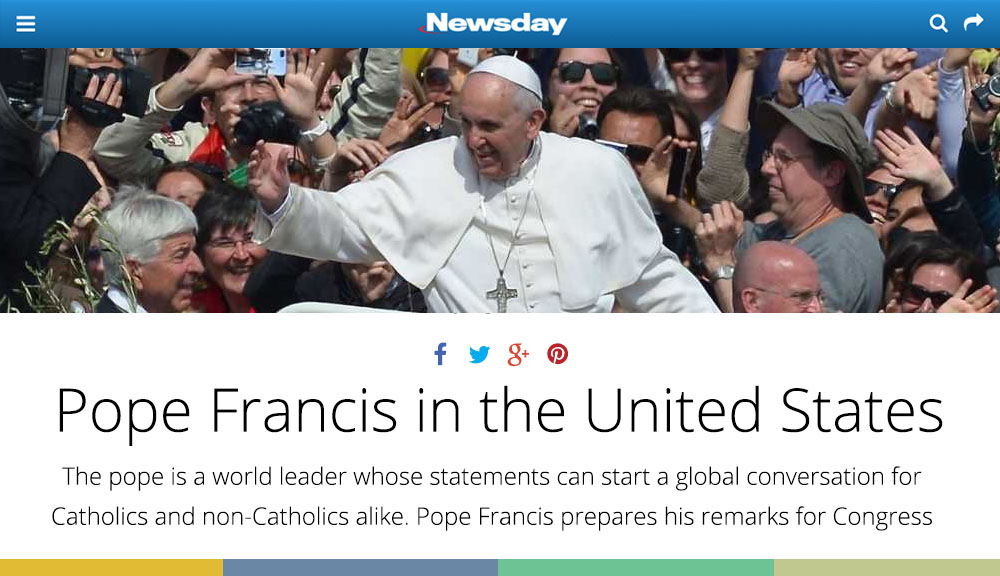 Newsday Tell the Pope Preview