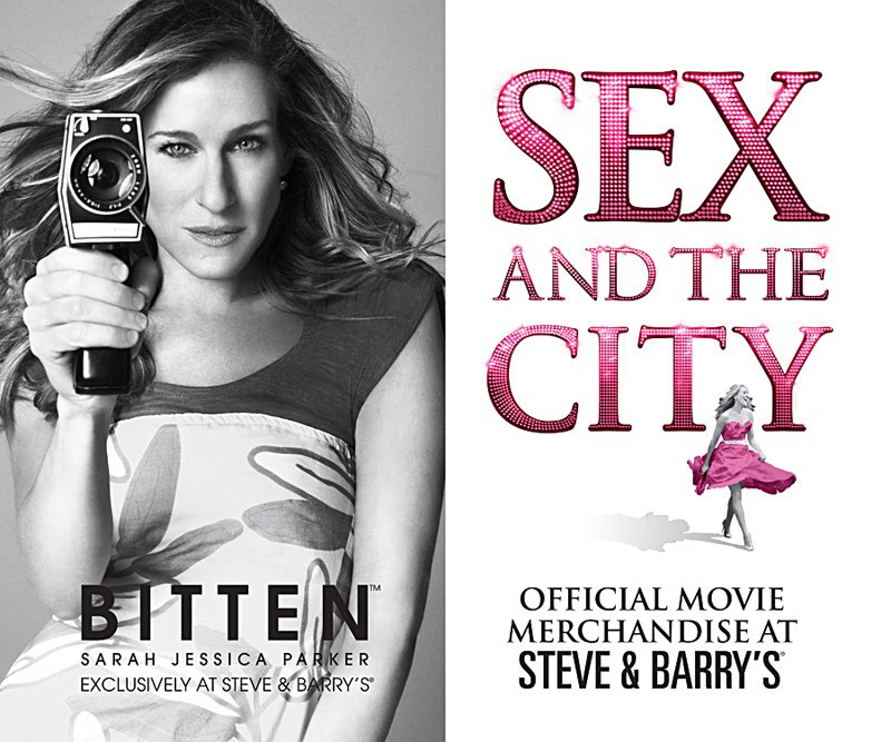 Bitten, Sex and the City, Sarah Jessica Parker, Print Poster