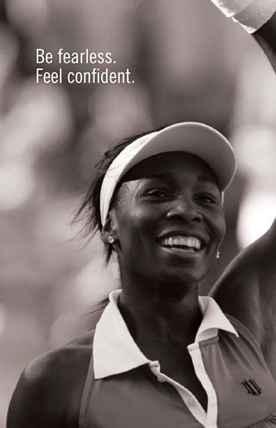 Eleven by Venus Williams Page Be Fearless