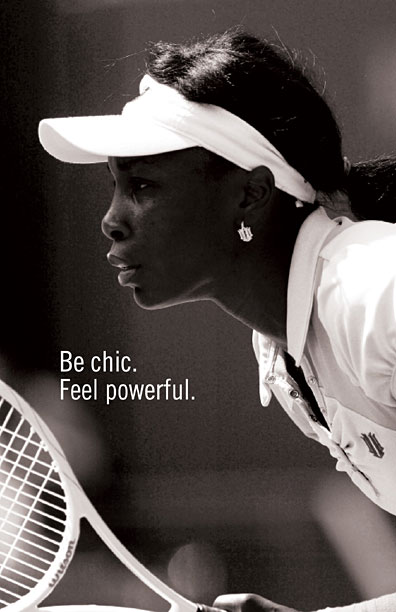 Eleven by Venus Williams Page Be Powerful
