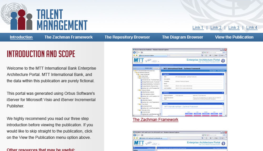 United Nations Web Preview
