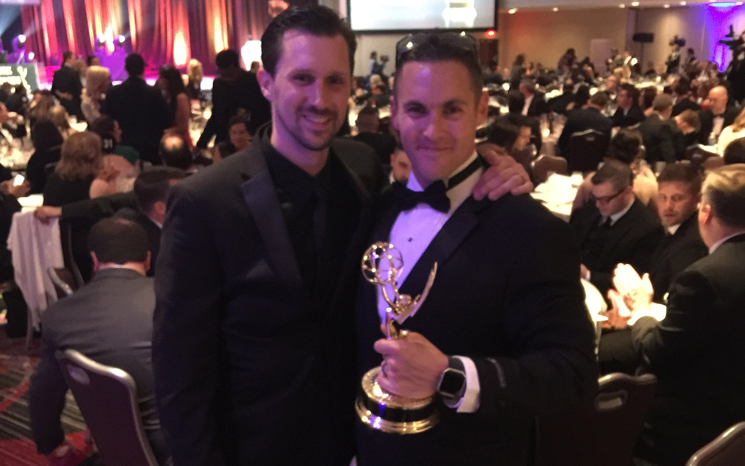 Anthony Carrozzo and Matt Cassella win an Emmy
